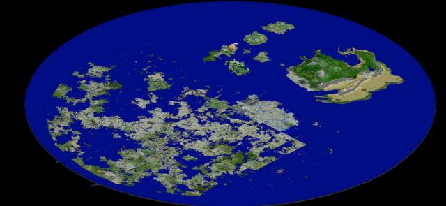 New Map Render, 19th April 2014