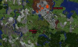 new world map arroyo